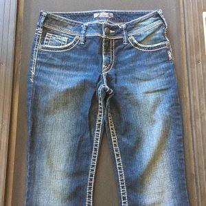 Silver tan jeans
